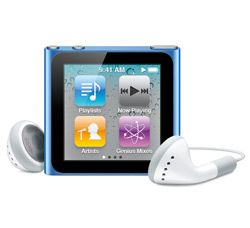 Apple introduces new iPod touch, shuffle and nano; lets loose iTunes 10 10ipodnano_hero