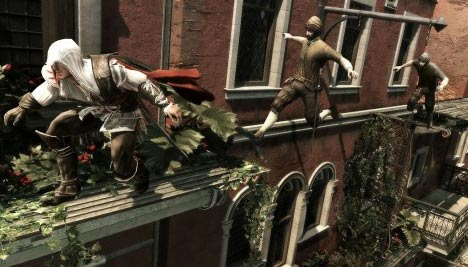 Assassin's Creed 2: Leap of faith and platforming