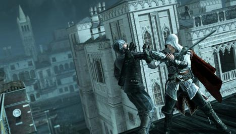 Assassin's Creed 2: Disarming an opponent