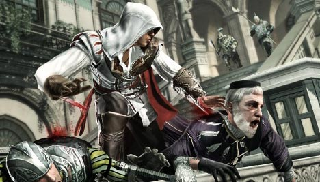 Assassin's Creed 2: Dual kill using dual blade