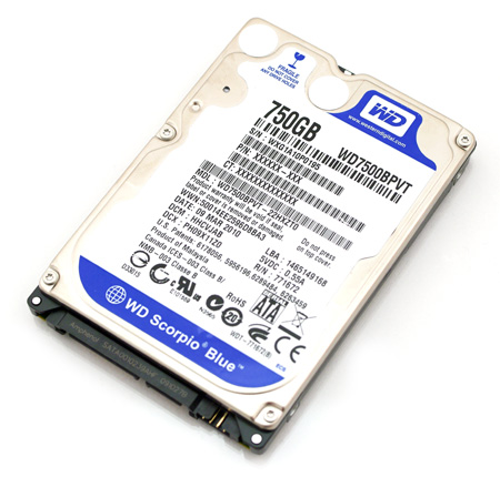 WD Scorpio Blue 750GB