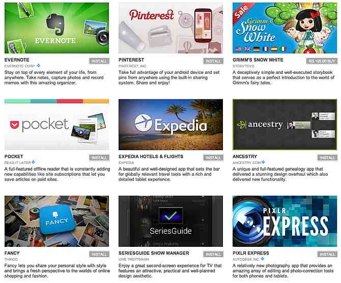 Google Play store lists 'Best Apps of 2012' | Rohidas