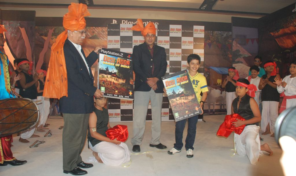 Prakhash Ahuja, Atindriya Bose and actor Darsheel Safary launch Desi Adda: Games of India