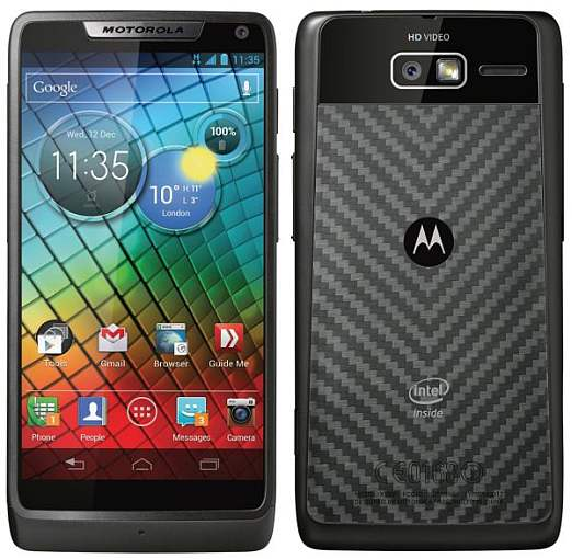 Motorola announces the ICS-based Razr i