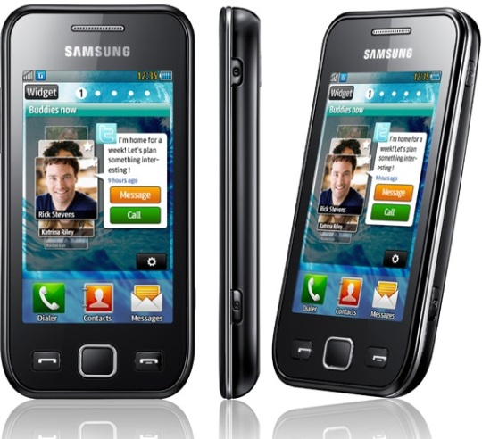 Samsung Wave 525 entry level smartphone - Latest Mobile Phone & Mobiles