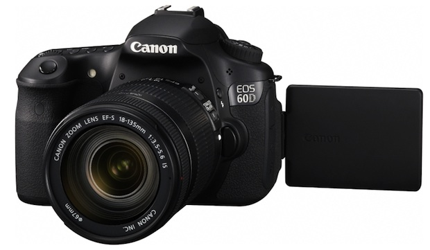EOS 60D articulated LCD