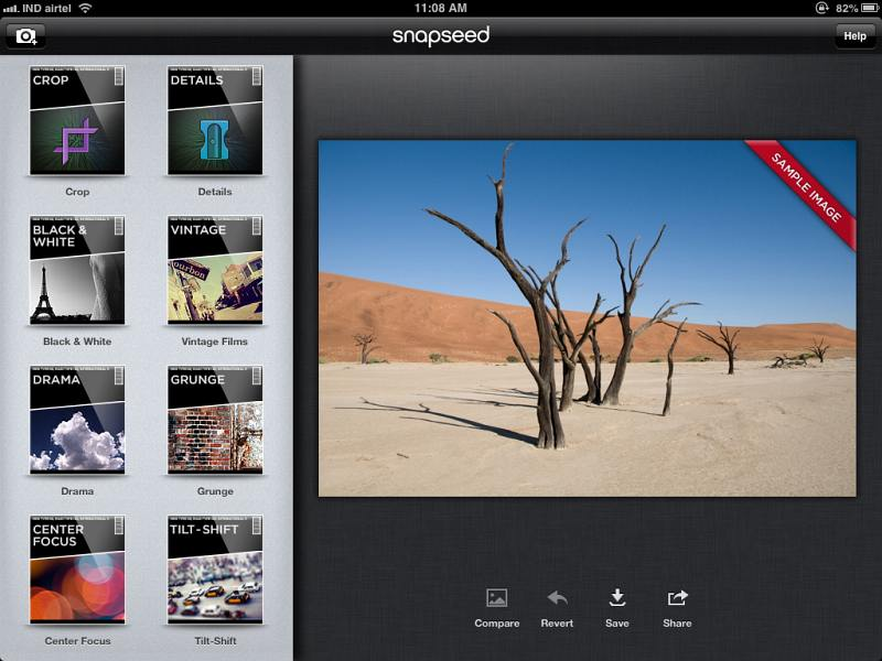 Snapseed for Android and iOS - Easy File Download