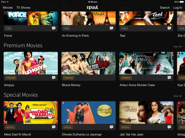 Spuul: a free app to stream Indian movies on your phone