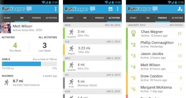 what is the best run tracker app for android