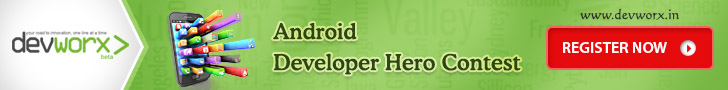 Android Developer Hero Contest