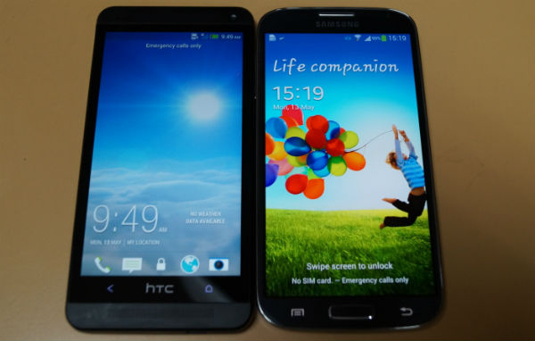 Samsung Galaxy S4 and HTC One: A visual comparison