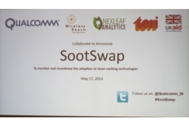 SootSwap: a mobile app that tracks adoption of clean cooking technologies