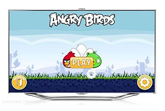 Now play Angry Birds on your Samsung Smart TV