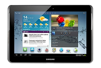 10.1-inch Samsung Galaxy Tab 2 P5100 available online in India, for Rs. 32,990