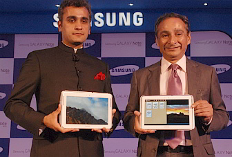 Samsung's 10.1-inch Galaxy Note 800 launched in India, at Rs. 39,990