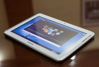 Hands On: Samsung Galaxy Note 800