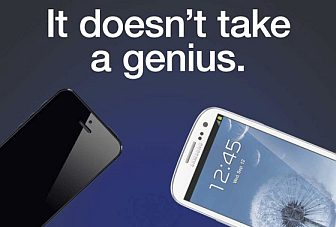 Samsung takes on Apple in a new Galaxy S III versus iPhone 5 ad