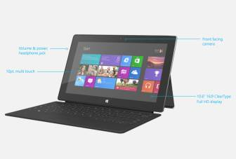 Microsoft Surface Pro comes with hefty price tag, 4 hour battery life