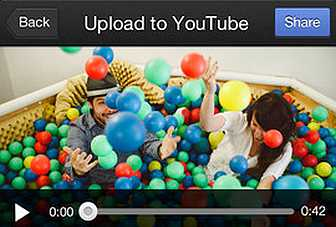 Shoot and upload videos using YouTube's standalone app Capture