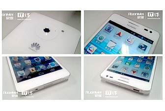 Huawei Ascend D2 leaks ahead of the CES 2013 unveiling