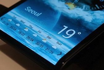 What can a curved AMOLED screen do for you?