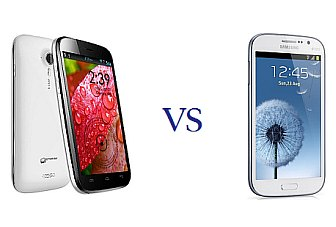 Phablet faceoff: Samsung Galaxy Grand vs. Micromax A116 Canvas HD