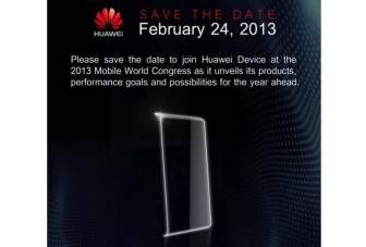 Huawei to unveil Ascend P2 with an eight-core processor at MWC 2013