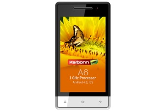 Karbonn A6 available online at Rs. 5,390, with 4-inch IPS display