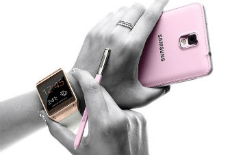 First Impressions: Samsung's Galaxy Note 3 and Galaxy Gear smartwatch