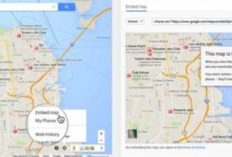 Google Maps adds embed feature, offers easy integration with blogs and websites
