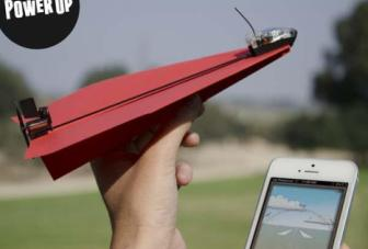 New technology lets you control a paper plane with your smartphone
