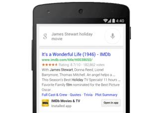 Google Search on Android now lets you search within apps