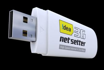 Idea Cellular launches 21.6 Mbps 3G NetSetter dongle for Rs. 2,160