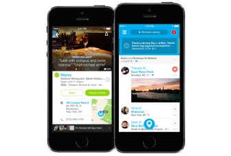 Foursquare for iOS gets complete redesign and new features