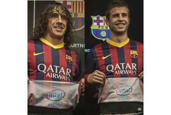 FC Barcelona now has Intel Inside its jersey, quite literally