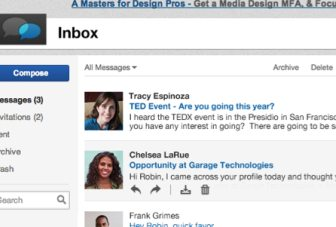 LinkedIn Inbox given major facelift, now shows previews of messages