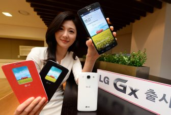 LG GX unveiled with 5.5-inch HD display, quad-core Qualcomm Snapdragon 600 chipset