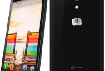 Micromax A114 Canvas 2.2, dual-SIM quad-core smartphone launched at Rs. 12,999