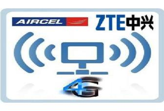 Aircel partners with ZTE for deployment of its 4G LTE network in India