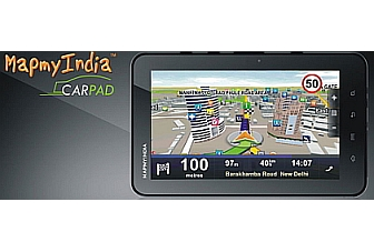 MapMyIndia launches CarPad, a 7-inch Android-based navigation & infotainment tablet