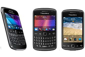RIM launches 3 new Blackberry smartphones in India