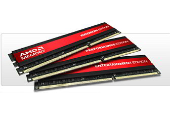 AMD Memory unveiled with Entertainment, Performance and Radeon Editions