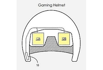 Microsoft patents virtual reality goggles, gaming helmet
