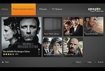 Amazon Instant Video now on the PlayStation 3