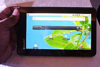 UbiSlate 7C: Hands-on