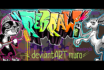 New and improved DeviantART muro now features Redraw