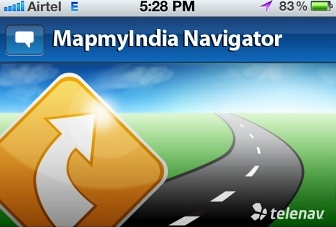 MapmyIndia Telenav Navigation for iPhone Review