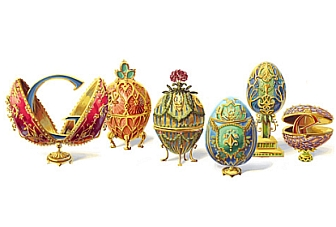 Google Doodle pays tribute to Peter Carl Faberge, on his 166th birth anniversary