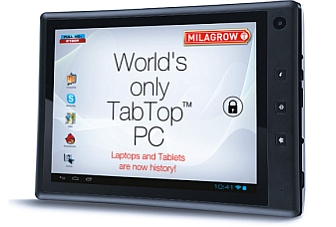 ICS-based Milagrow TabTop 7.4 launched at Rs. 10,990