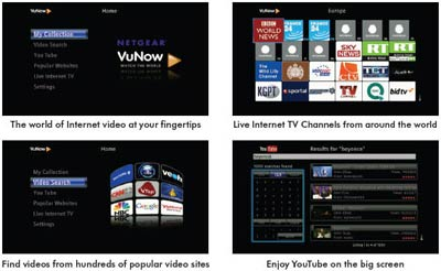 The Internet TV Player brings you streamed video content from around the world
